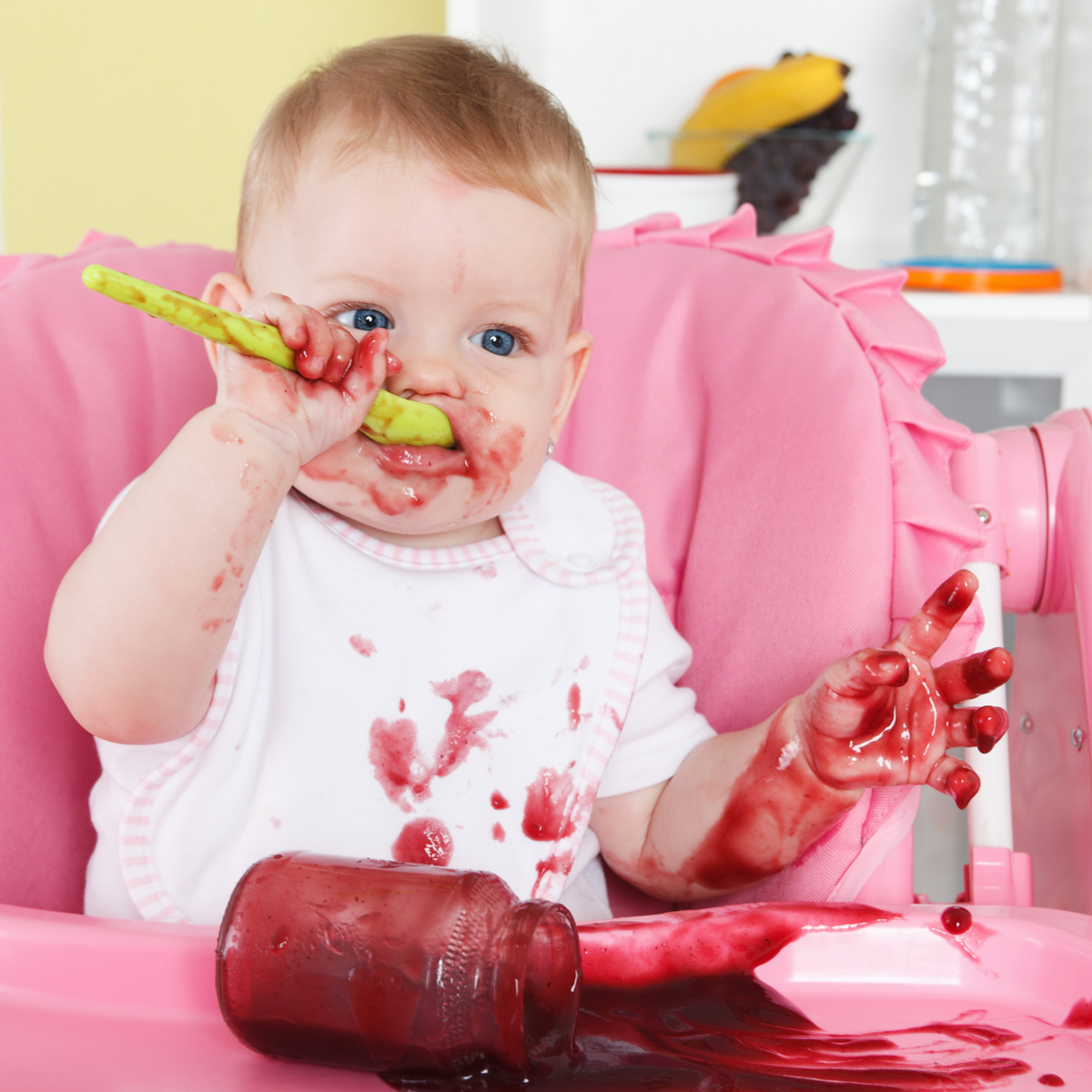 Successfully start baby on solids